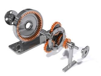 Epicyclic gear train by Fenris-V