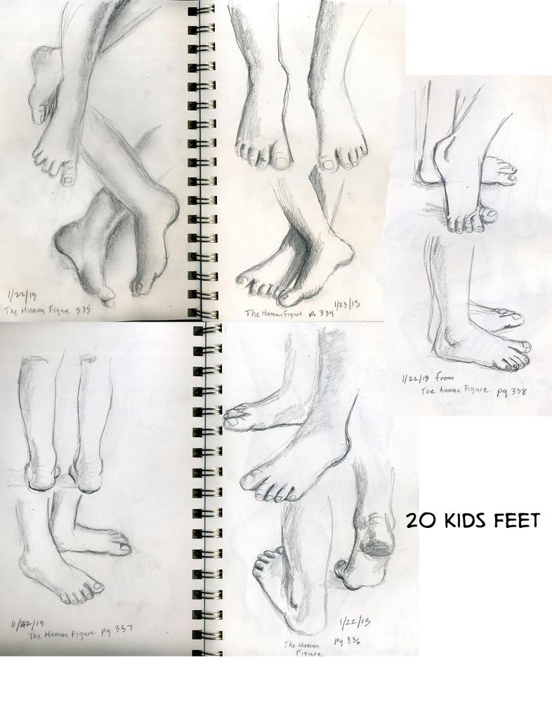 Girl Kids Feet 20 Kids Feet by Girl n