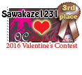 3rd Place OC Takeover Valentines 2016 by girl-n-herhorse
