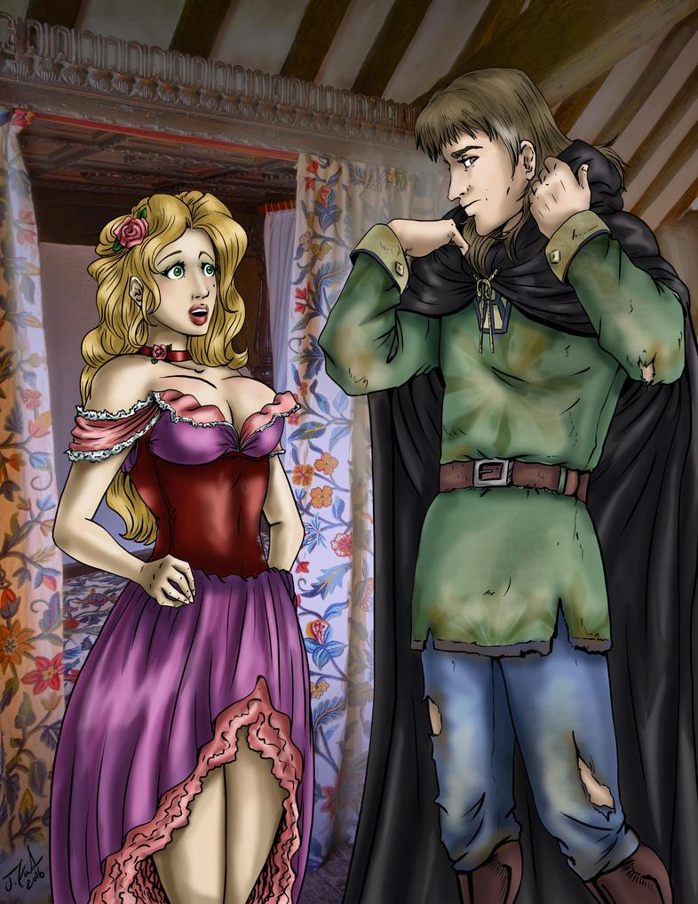 Rose and Tiernan Collab by girl-n-herhorse