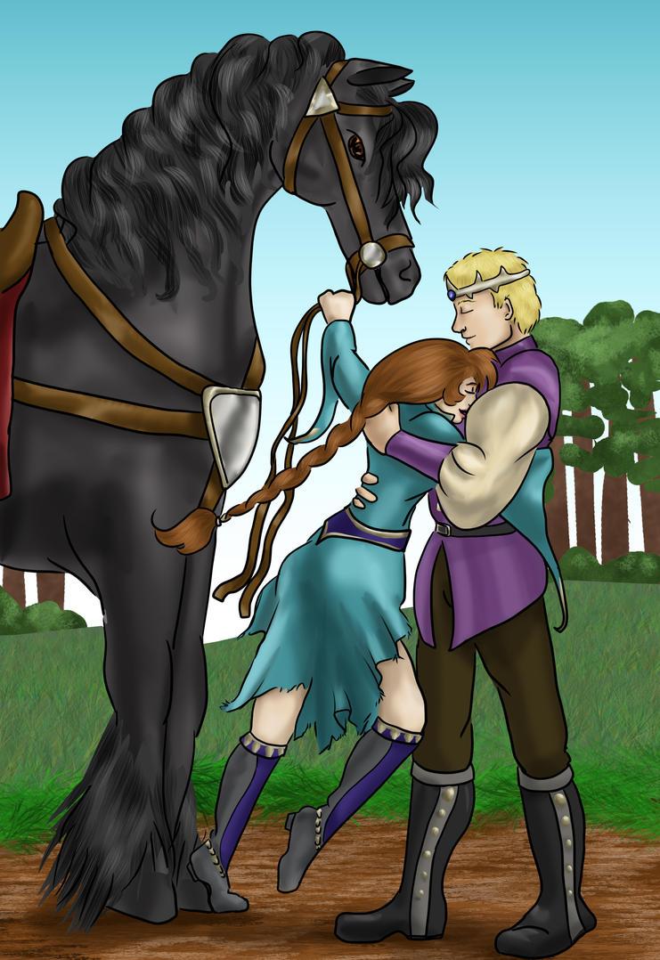 Gift of Menace by girl-n-herhorse