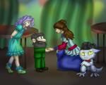 Prom - Riana meets Green
