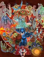 megaman tribute by skatkat1