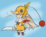 Moogle Chocobo Knight
