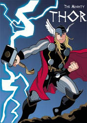 The Mighty Thor by HeroOfZeros