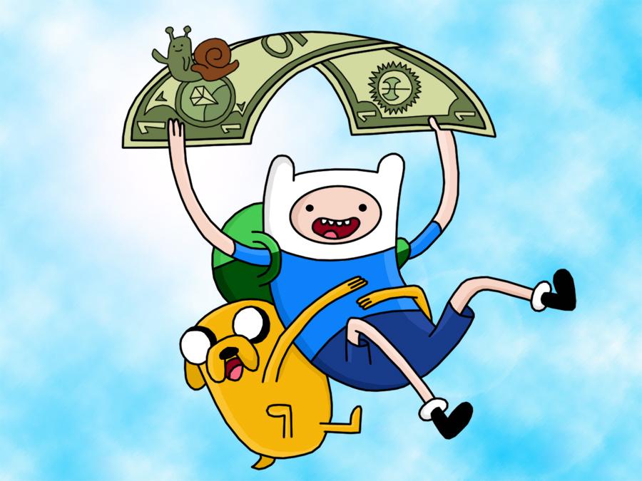 Adventure Time by HeroOfZeros