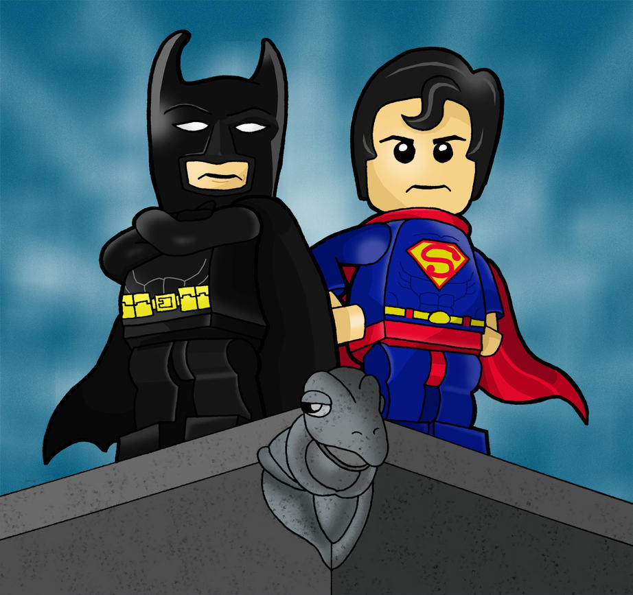 Justice, Lego Style by HeroOfZeros