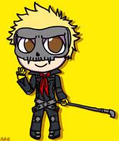Chibi Skull by PDaisyFF1