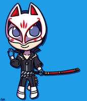 Chibi Fox by PDaisyFF1