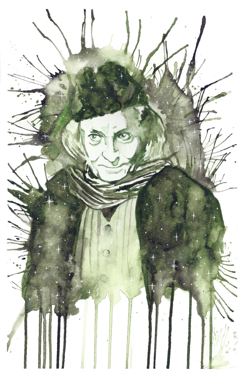 William Hartnell as The First Doctor by JonTLewis