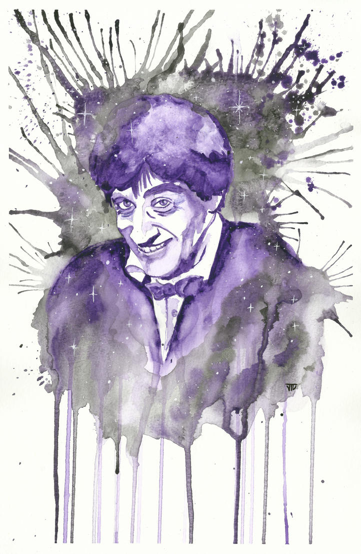 Patrick Troughton as The Second Doctor by JonTLewis