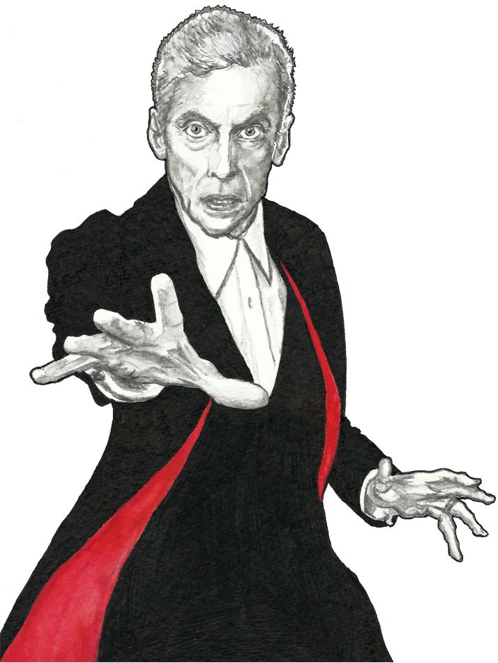 Peter Capaldi as The Twelfth Doctor by JonTLewis