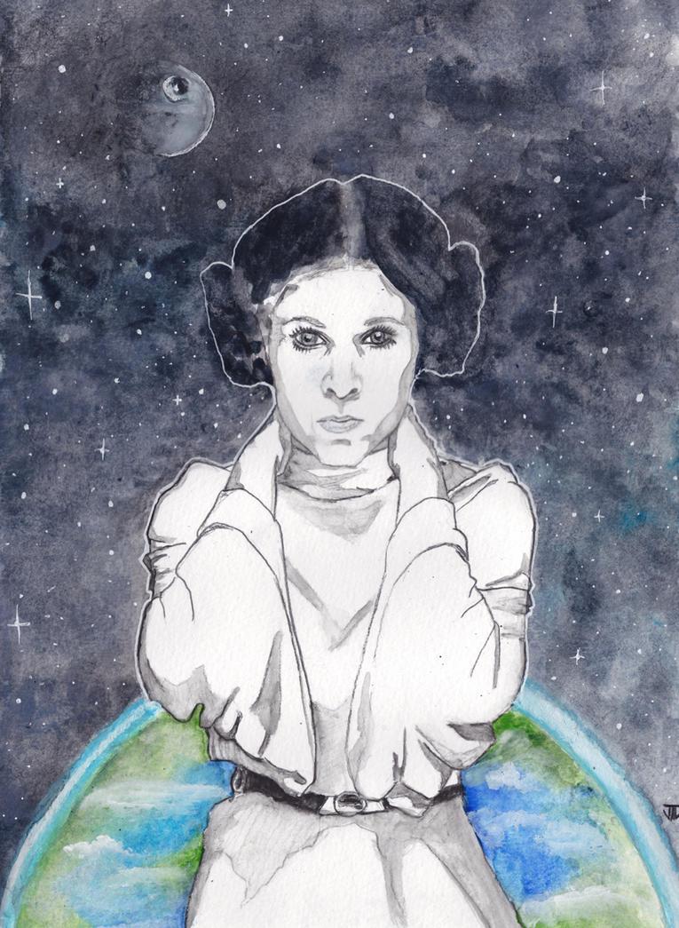 Princess Leia Organa by JonTLewis