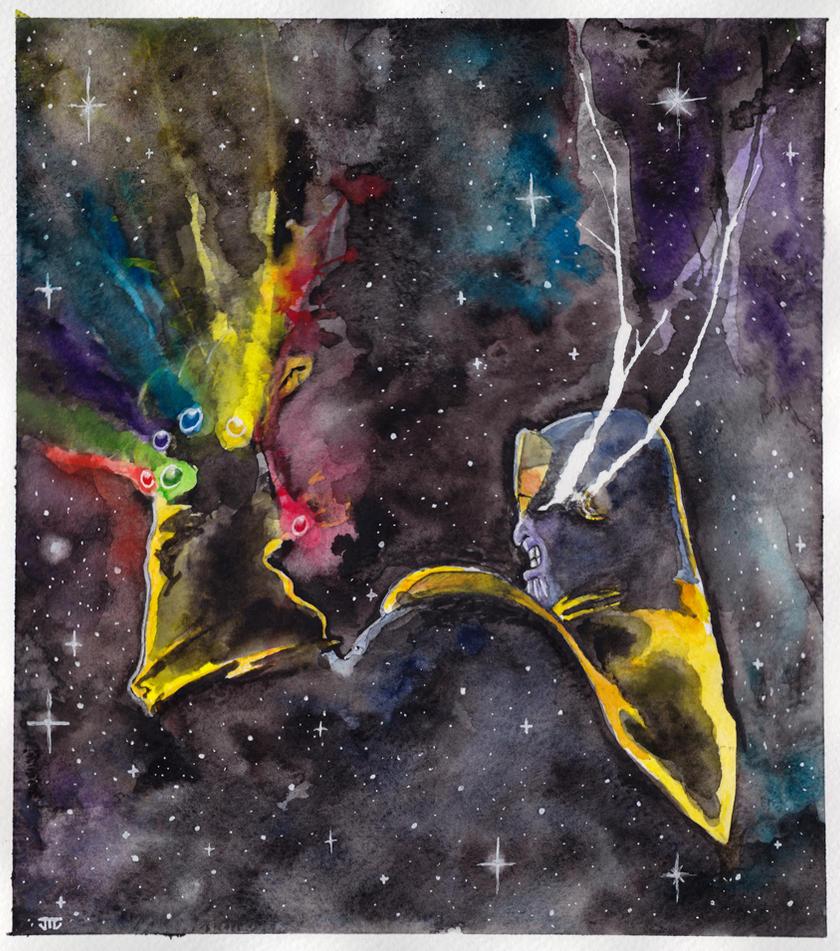 Thanos by JonTLewis