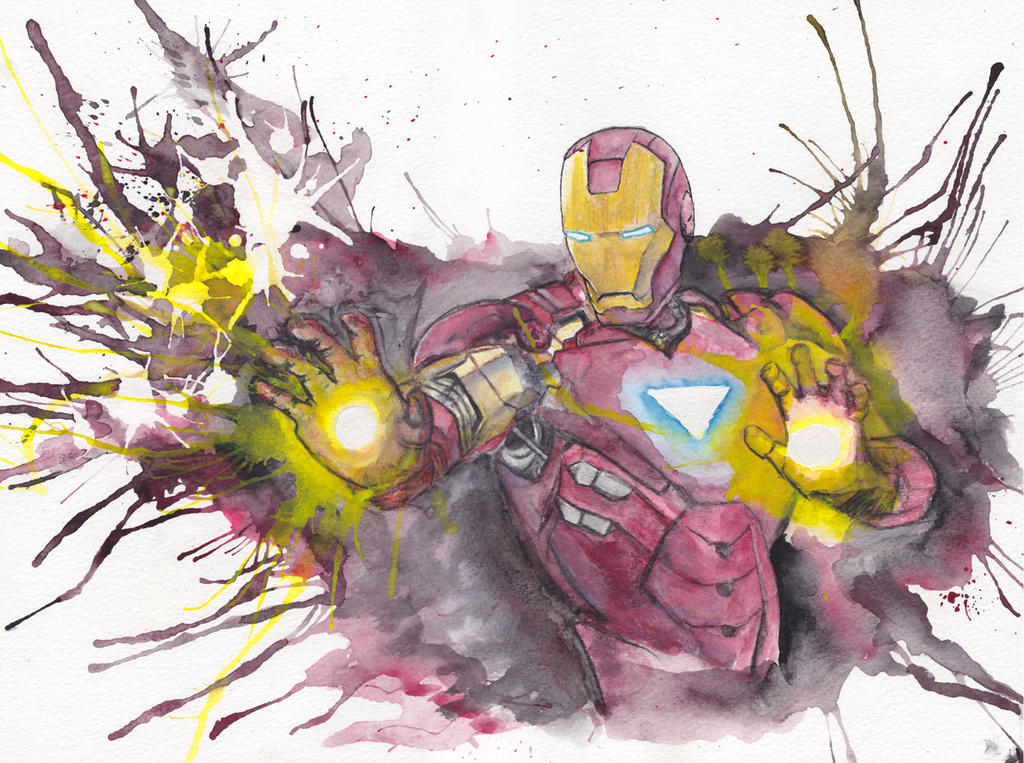 Iron Man by JonTLewis