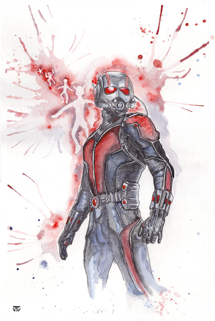 Ant-Man by JonTLewis