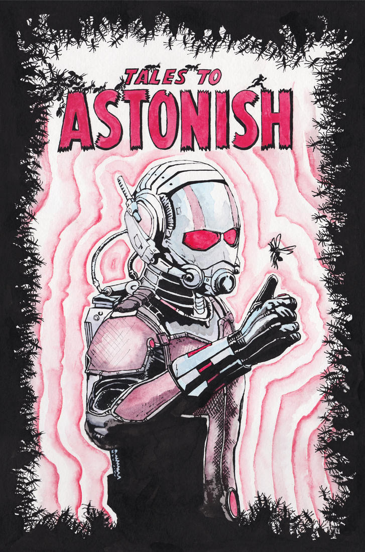 The Astonishing ANT-MAN! by JonTLewis