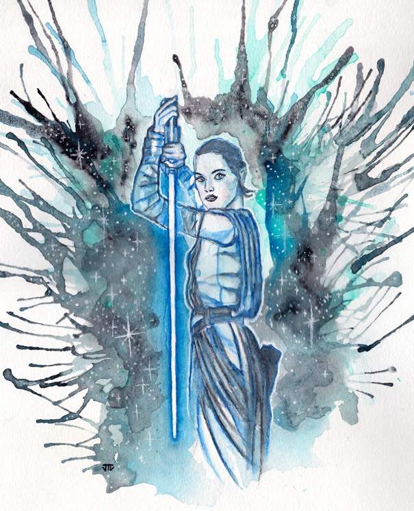 Rey by JonTLewis