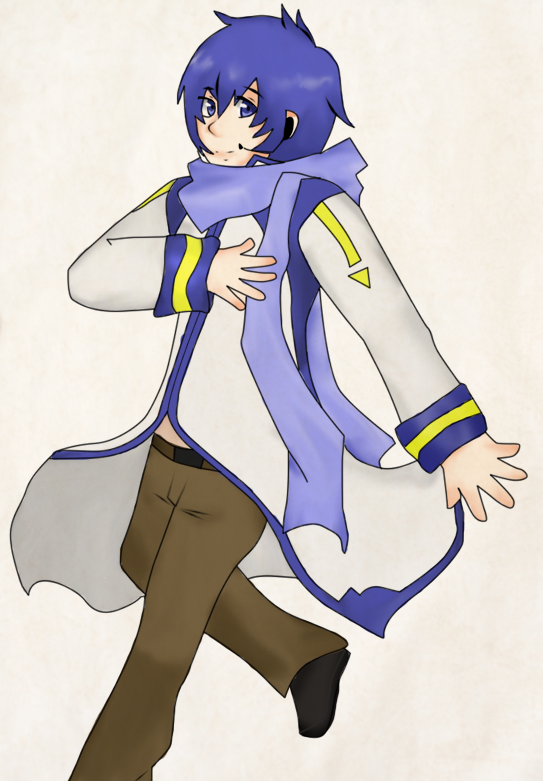 Kaito by CrazzyDreams