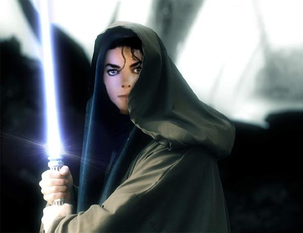 Jedi Master Michael Jackson by Becky123190