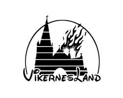 Vikernesland logo by magnettarpittrap