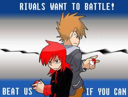 Battle us by Aosuka
