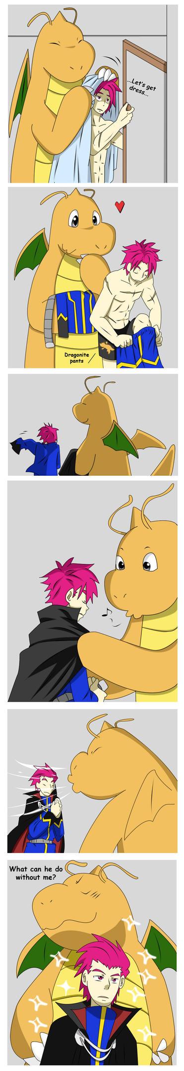 Helpful friend by Aosuka