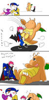 Dragonite wants to cuddle