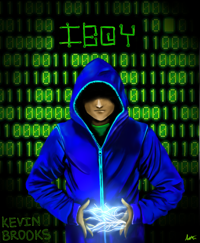 IBOY book cover by ElectraGrimm