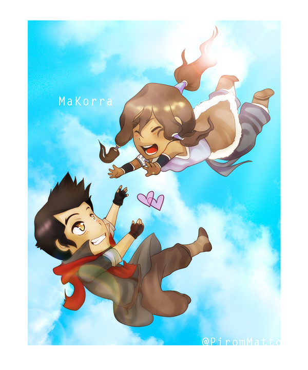 Makorra by redoluna on DeviantArt