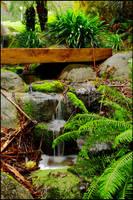 Small waterfall by Eternal-Polaroid