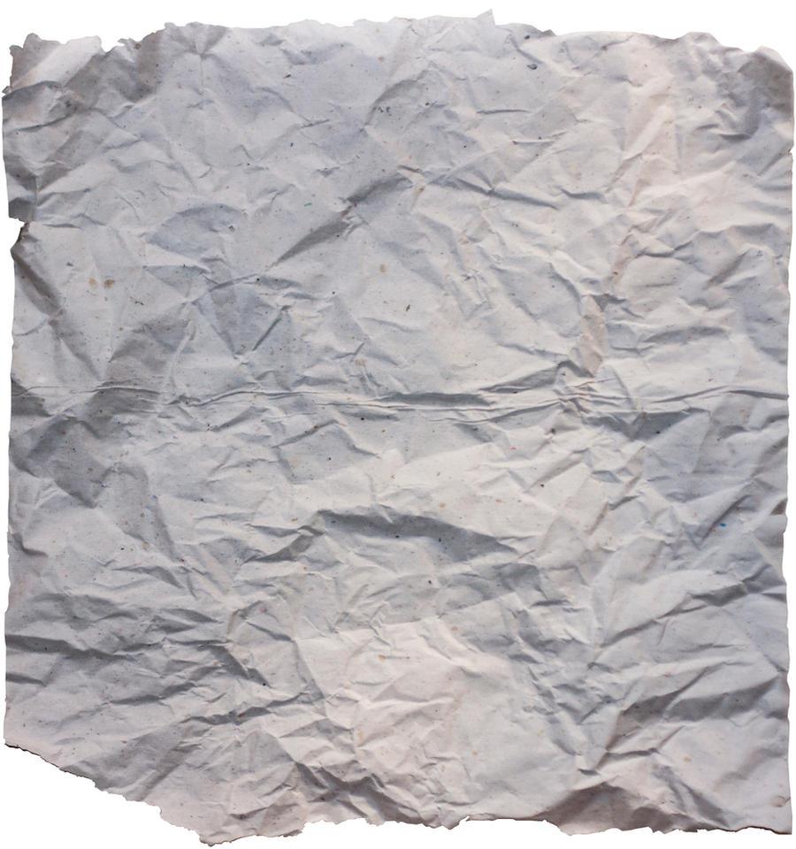 Crumpled Paper stock