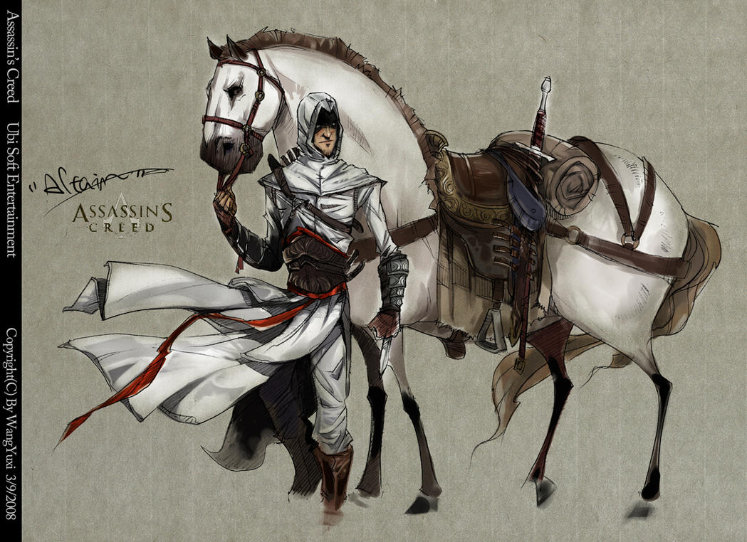 Assassin's Creed by Wangyuxi