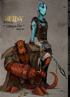 HellBoy by Wangyuxi