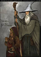 Gandalf The Grey by Wangyuxi