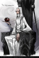 Saruman The White by Wangyuxi