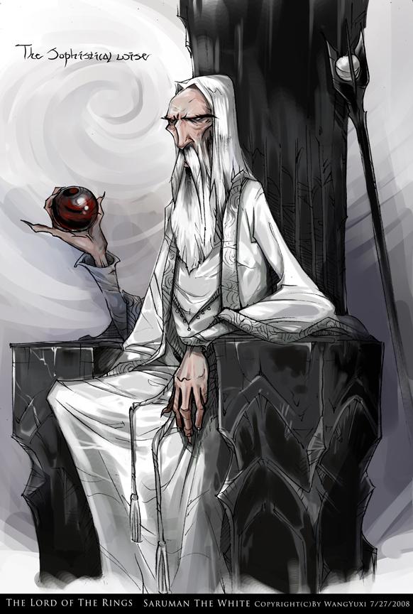 Saruman The White by Wangyuxi