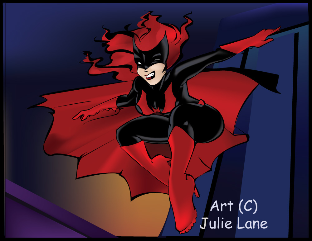 Batwoman -comission colors- by HooplaImages