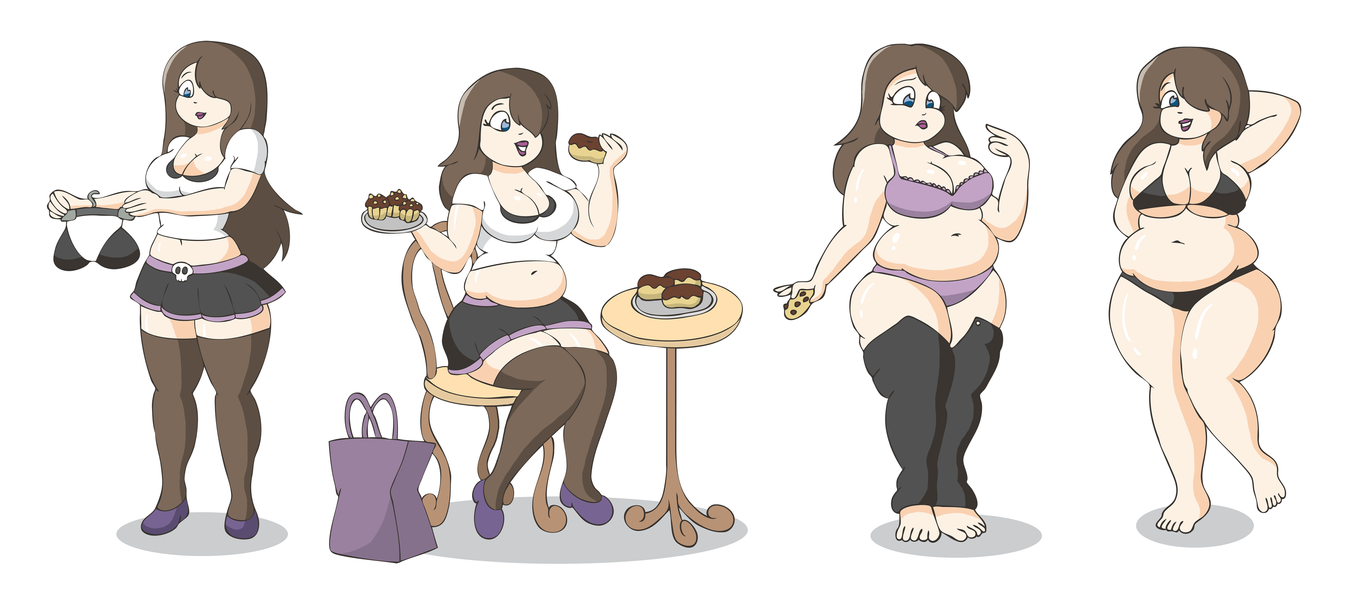 Anime weight gain