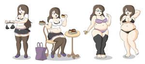 Alice Weight Gain