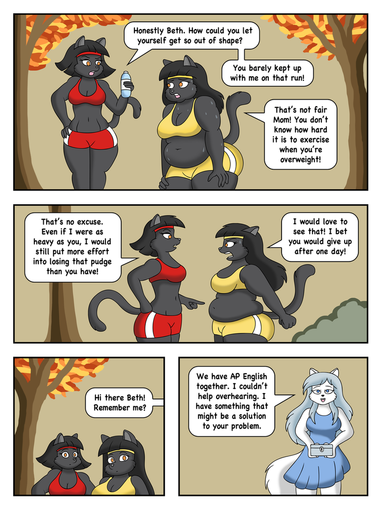 Life in the Fat Lane Page 1 by LordStormCaller on DeviantArt