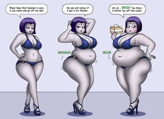 Raven Weight Gain
