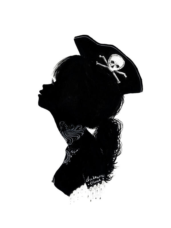 charmaine olivia s diary pirate silhouette giveaway