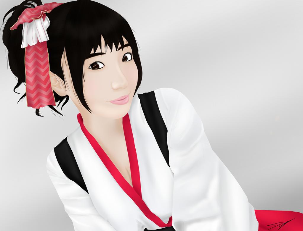 Lily Sakura by M0nk3y-Den