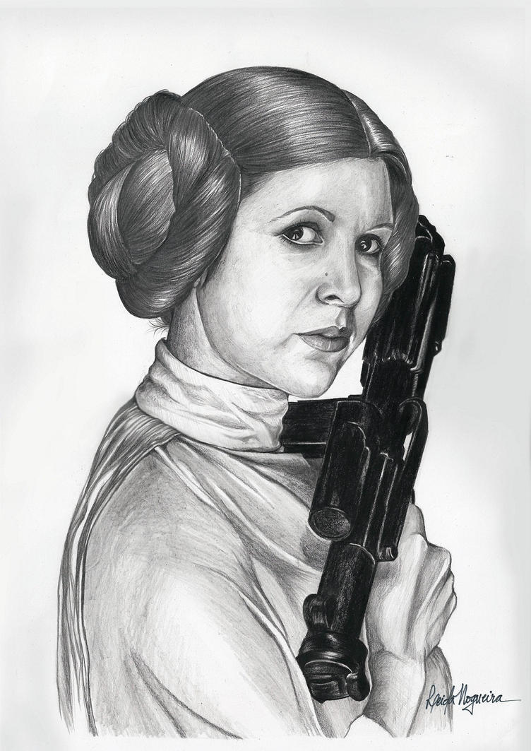 Princess Leia by leidanogueira
