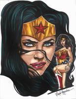 Wonder Woman by leidanogueira