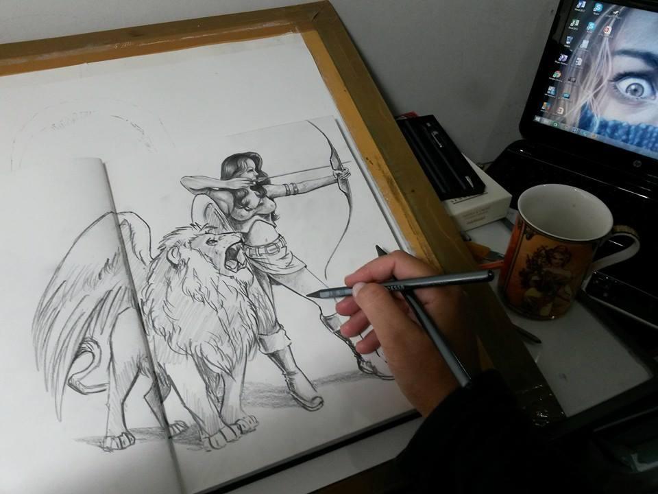 archer by leidanogueira