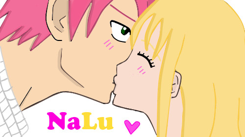 NaLu~ Kiss by mrseucliffex