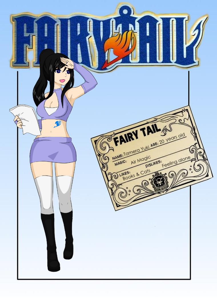 Tamera Yuki Guild Card by mrseucliffex