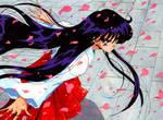 FAN ART: Rei no sakura matsuri